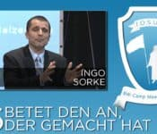 Josua Camp Meeting 2015, 06. Betet den an, der gemacht hat, Ingo Sorke