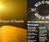 The Week of Prayer: The Prayer of Isaiah || POTS Ministries
